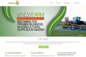 New Farm Website