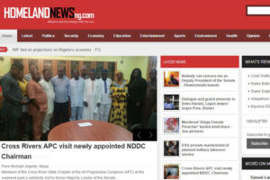 Homeland News Website Project